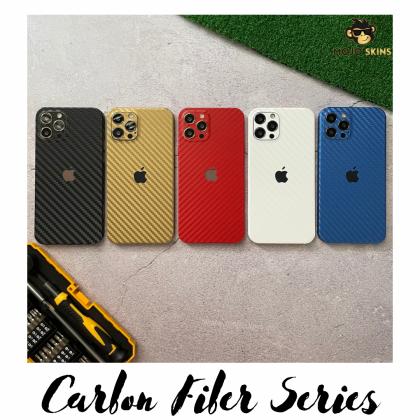 Mojoskins 3M Carbon Fiber Series : Blue - Iphones