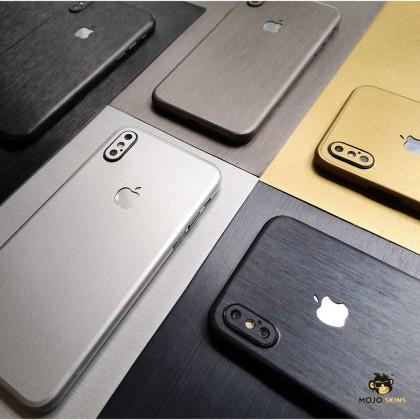 Mojoskins 3M Brushed Metal Series : Navy Blue - Iphones