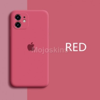 [READY STOCK] HIGH QUALITY THICK LENS Protection Matte Original Liquid Silicon Case Iphone 12 Pro Max 11 7 plus 8 SE 6