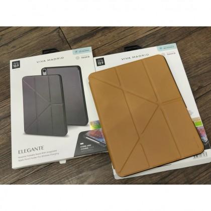 [READY STOCK]Viva Madrid Elegante Tri-fold case Ipad Air 10.9 Apple Pencil Holder Flip Casing Potrain Landscape Stand