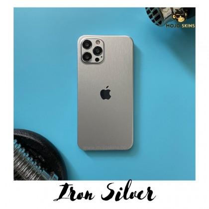 Mojoskins 3M Brushed Metal Series : Silver - Iphones