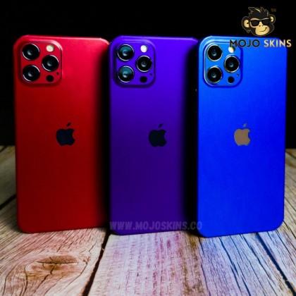 Mojoskins 3M Chrome Matte Series : Purple - Iphones