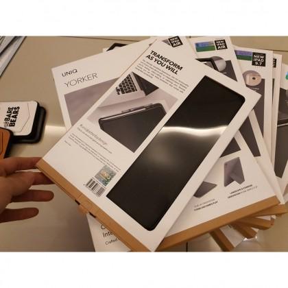 UNiq Ipad 9.7 10.2 Air 3 Pro 11 MIni 5 Yorker Transforma FLip case READY STOCK
