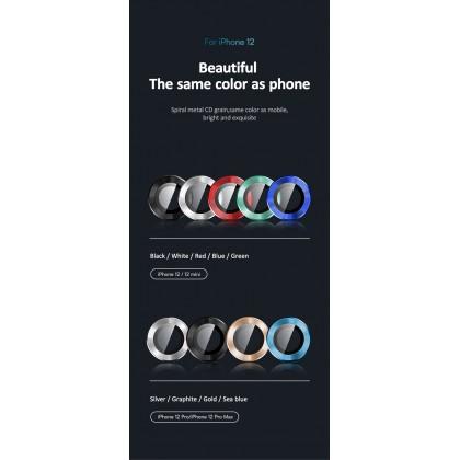 [READY STOCK] Premium Lens Protector Iphone 12 Pro Max USAMS Aluminium Super Strong Durable